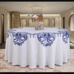 printed bordered table cloth in FEIBIXUAN