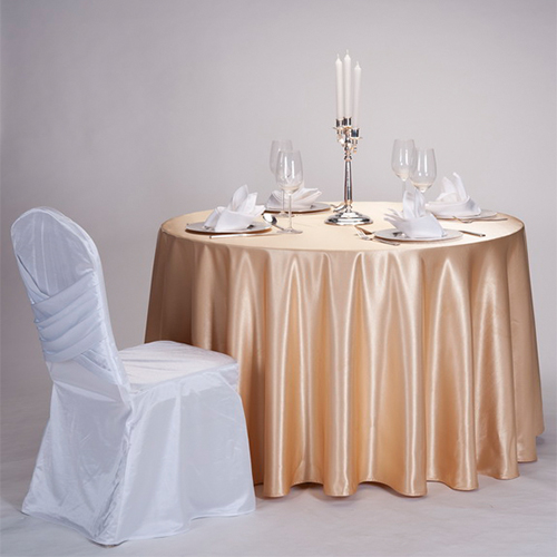satin table cloth for wedding in FEIBIXUAN
