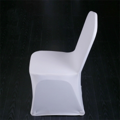 Plain Spandex Chair Cover for wedding in FEIBIXUAN