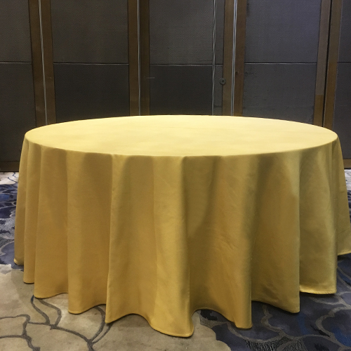 seamless standard banquet table cloth in China